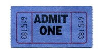 Admittance ticket