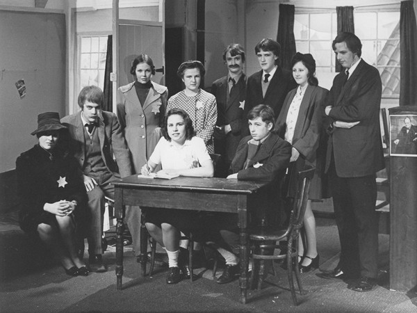 Cast of The Diary of Anne Frank