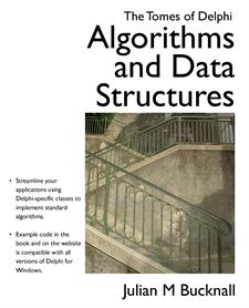 New cover for The Tomes of Delphi: Algorithms and Data Structures