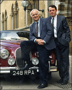 Morse and Lewis and the Jag